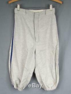 Vintage 1960s L. A. Dodgers Flannel Youth Baseball Uniform Shirt, Pants, Cap, &Socks