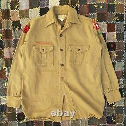Vintage 30s Sweet Orr BSA Boy Scouts Shirts (3) And Knickers (1) Oregon S-M 27