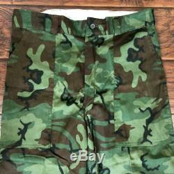 Vintage 60s Nos Sears Action Rite Camo Uniform Shirt Pants Size M Ted Williams