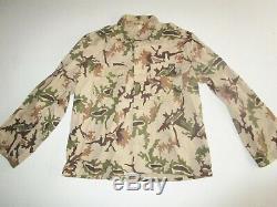 Vintage Army Desert Camo camouflage Uniform Pants Shirt Field Jacket Vietnam