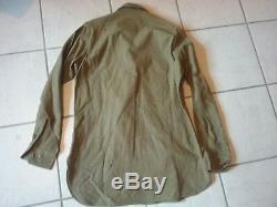 Vintage Army Uniform Jacket 36R, Pants W 30/L 33, Shirt 34, Belt, Tie and Hat 7 3/8