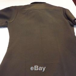 Vintage Border Patrol Uniform Pants Shirt