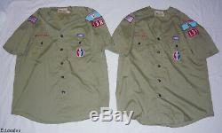Vintage Boy Scout Uniforms Eagle Patches Neckerchief Shirts Pants Shorts