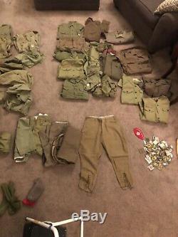 Vintage Boy Scout uniform Lot Shirts, Pants, Socks, Belts, Patches