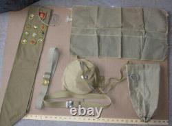 Vintage Boy Scouts BSA Collection Shirts, pants, belts, bags, aprons, 1940 SASH