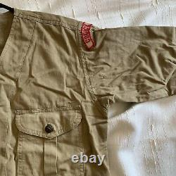 -Vintage Boy Scouts Shirt- with Pants That Are Not Official Boy Scout Pants