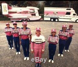Vintage Circus Circus Hydroplane Crew Uniform (shirt & pants)