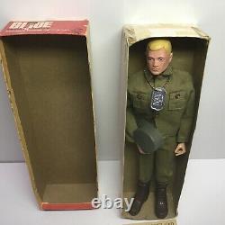Vintage Hasbro 1964 G. I. JOE Action Soldier #7500 Near Mint In Box