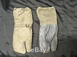 Vintage Military Cold weather Shirts Hats Camo Pants Mittens Long Johns Lot