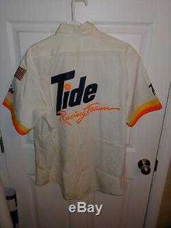 Vintage NASCAR Darrell Waltrip 1988 tide Pit Crew shirt pants uniform race used