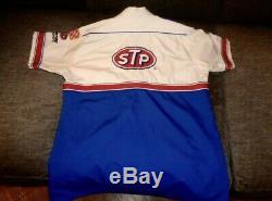 Vintage Nascar STP Richard Petty Race Used Pit Crew uniform Shirt/Pants