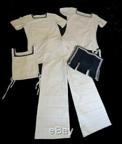 Vintage RAN, Naval Uniform With Provenance Pants, Two Shirts, Collar, Insignia
