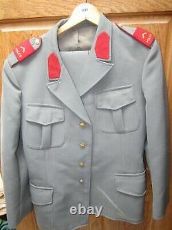 Vintage SWISS POLICE UNIFORM CIRCA 1978 SHIRT TIE PANTS COAT Switzerland