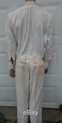 Vintage Skelly Gas Service Station Attendants Uniform Shirt & Pants 1960s