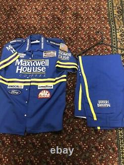 Vintage Sterling Marlin Maxwell House Pit Crew Uniform Pants Rare Winston Cup