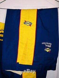 Vintage Terry Labonte SUNOCO Nascar Pit Crew Uniform Shirt Pants Winston Cup