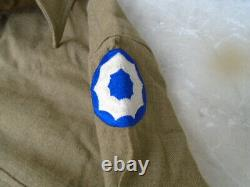Vintage US Army Uniform Jacket, Shirt, Pants, Hat & Belt