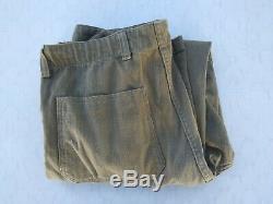 Vintage USMC HBT Combat Shirt & Pants Size 42-44 & 32x30