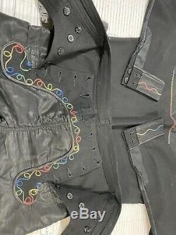 Vintage USS F D Roosevelt navy uniform tailor-made liberty cuff Shirt and pants
