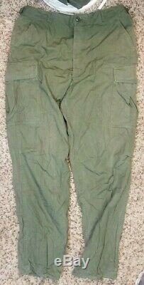 Vintage Vietnam Era Uniform Shirt And Pants Yt28