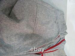 Vintage Wool Baseball Uniform Shirt with Two Pants 50/60s MARINES