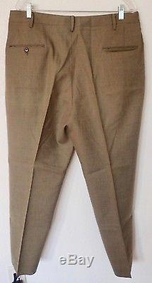 Vintage Wool Boy Scout Uniform Shirt and Pants Army Green St Louis DM0497