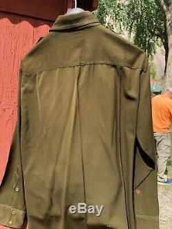 Vintage World War 2 Army Officers Ike Jacket, Shirt, Pants, Hat & Assorted Items