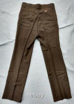 Vtg 1970's Coca-Cola Route Delivery Drivers Uniform Jacket Shirt Pants