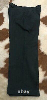Vtg 40s Lion Work Uniform Civil Defense Sanforized Shirt Pants Waldes Zipper