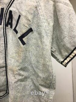 Vtg 50s Baseball Wool Uniform Shirt Pants Cornwall Grey Sz42 Lebanon County Pa