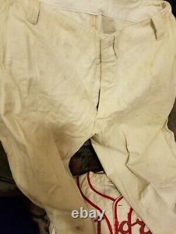 Vtg / Antique Astoria moose Wool Baseball Uniform Pieces Shirts / Pants Wilson