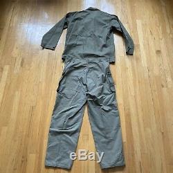 Vtg WW2 WWII 1945 USMC HBT Herringbone Marines Shirt Jacket & Cargo pants