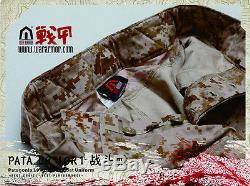 WARARMOR PATA Level L9 Navy Seal AOR1 Desert Camo Combat Shirt Pant Knee