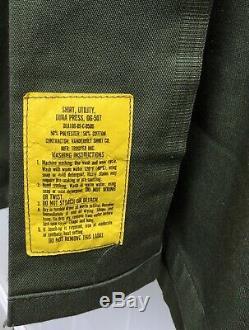 WE WERE SOLDIERS Fatigue Shirt & Pants 1st CAV Uniform Vietnam Movie Props COA