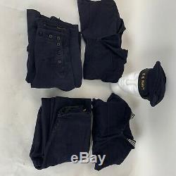 WORLD WAR 2 US Navy Sailor Shirts and Pants & HAT