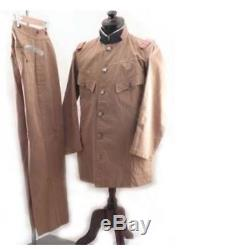 WW2 Imperial Japanese Army Medical Officer Type 45 Uniform Pant & Shirt S/F JPN