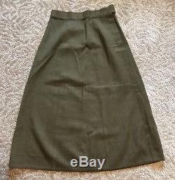 WW2 Nurse WAC ETO Uniform Grouping Womens Ike Skirt Pants Shirt