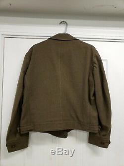 WW2 U. S. Large Size Uniform Set, Ike 44R, M37 Shirt 17/33, Pants 40/31, all real