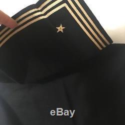 WW2 US Navy Coast Guard Uniform Wool Cracker Jack Shirt Pant 25x32 bell bottom