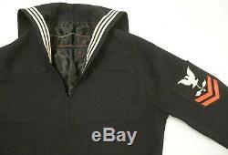 WW2 US Navy Sailor Uniform Cracker Jack Shirt & Pants NOS Best Bilt Embroidered