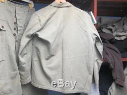 WW2 USMC HBT Harringbone Twill Fatigue Shirt AND ONE POCKET MONEY PANTS SET