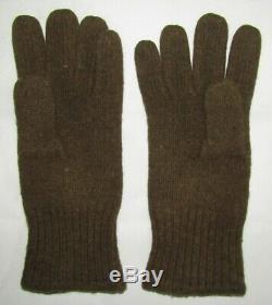 WW2 Women's Army Corp Wool Field Shirt, Gloves & English Made Wool Field Pants