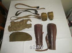 WWI US ARMY 28th INF. DIV. UNIFORM, COAT, JACKET, PANTS, SHIRT, OS HAT, + MORE