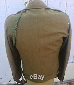 WWII 99th / 2nd infantry ike jacket with shirt, pants, and extras ww2