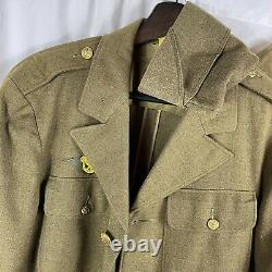 WWII Complete Uniform Jacket Shirt Pants Hat All Named