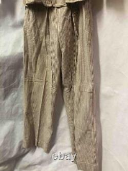 WWII SEERSUCKER UNIFORM Army Nurse Corps Shirt Pants Hat ANC Original RARE HTF