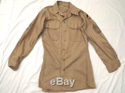 WWII U. S. ARMY AIR Corps 3rd 15th Air Force Enlisted Uniform Jacket Shirts Pants