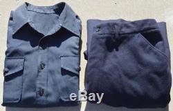 WWII US Navy USN Shirt & Pants Id'd John L Lott Louisville KY Pearl Harbor