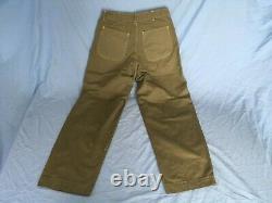 WWII USMC P41 herringbone twill HBT utility 36 coat shirt 34 trousers pants