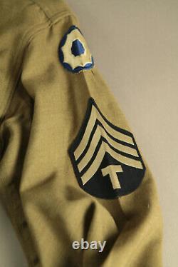 WWII WW2 Ike Jacket, Shirt, and Pants NICE Seargent